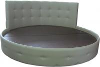 Круглая двуспальная кровать 'Николь'