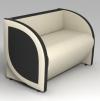Дизайнерский диван 'Фолиум'