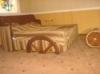 """Дизайнерская кровать """"Колесница"""""""